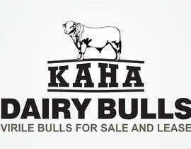 Nro 76 kilpailuun Design a Logo for Kaha Dairy Bulls käyttäjältä creazinedesign