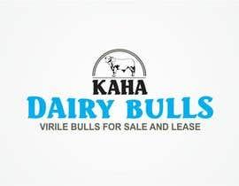 Nro 77 kilpailuun Design a Logo for Kaha Dairy Bulls käyttäjältä creazinedesign