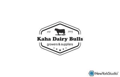 Nro 67 kilpailuun Design a Logo for Kaha Dairy Bulls käyttäjältä SergiuDorin