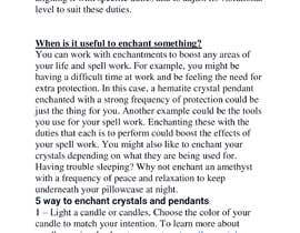 #6 cho I need instructions on how to enchant crystals and pendants bởi msht