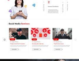 Nro 52 kilpailuun Build new landing page for influencer marketing services käyttäjältä ThemezBazar