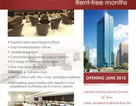 #13 para Design a Flyer for a new business center opening por jassna