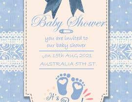 Nro 230 kilpailuun Design Me A Baby Shower Invitation käyttäjältä nohagalal1999