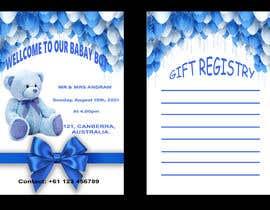 Nro 292 kilpailuun Design Me A Baby Shower Invitation käyttäjältä Hansisarath