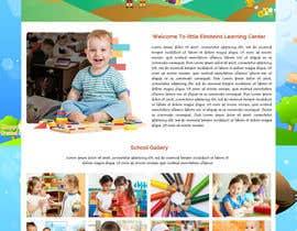 #30 for Design a Website Mockup for Little Einstein's Learning Center (Daycare) af ravinderss2014