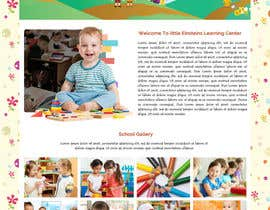 #31 for Design a Website Mockup for Little Einstein's Learning Center (Daycare) af ravinderss2014