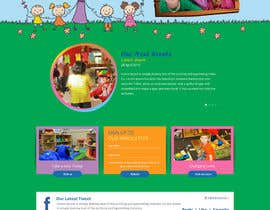 #32 cho Design a Website Mockup for Little Einstein's Learning Center (Daycare) bởi azzicreative