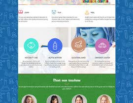 #36 for Design a Website Mockup for Little Einstein's Learning Center (Daycare) af jituchoudhary