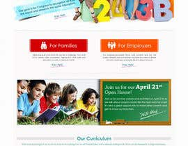 #6 cho Design a Website Mockup for Little Einstein's Learning Center (Daycare) bởi doomshellsl
