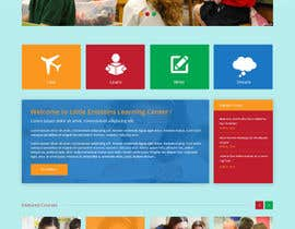 #8 cho Design a Website Mockup for Little Einstein's Learning Center (Daycare) bởi syrwebdevelopmen