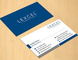 #103 cho Design some Business Cards for Lexcel Consulting bởi dinesh0805