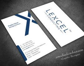 smshahinhossen tarafından Design some Business Cards for Lexcel Consulting için no 145