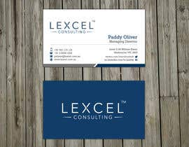 mdreyad tarafından Design some Business Cards for Lexcel Consulting için no 140