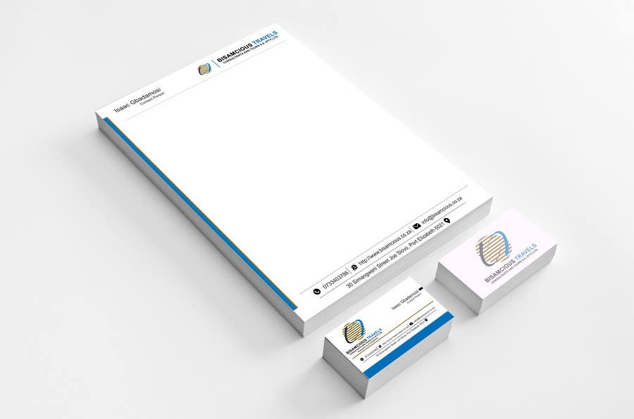 Contest Entry #                                        7                                      for                                         Design a letterhead and business cards for a travel consultantcy