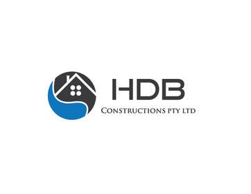 #28 untuk Design a Logo for HDB Constructions pty ltd oleh mdrashed2609