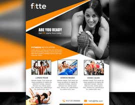 Mondalstudio tarafından Design a Flyer for Fitness Business için no 13