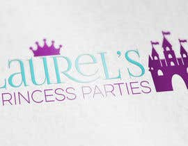 #79 for Princess Parties Logo by IllusionG