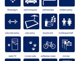 #7 cho Design some Icons for hotel amenities bởi aloannguyen