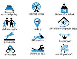 #15 cho Design some Icons for hotel amenities bởi mithusajjad