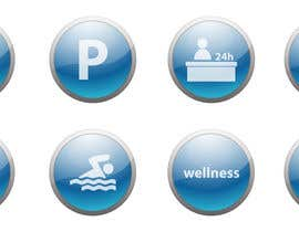 #9 cho Design some Icons for hotel amenities bởi vstankovic5