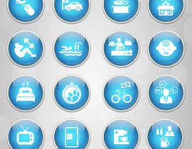 dreamstudios0 tarafından Design some Icons for hotel amenities için no 10