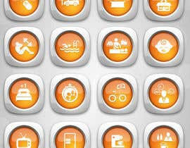 #11 cho Design some Icons for hotel amenities bởi dreamstudios0