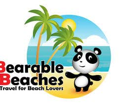 #103 para Design a Logo for Bearable Beaches por BlueMonkeyStudio