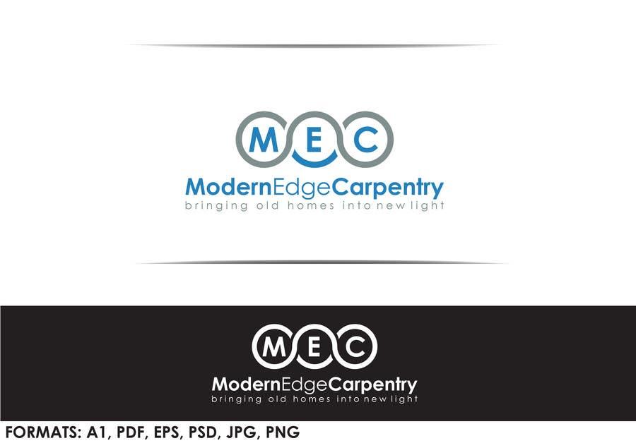 Penyertaan Peraduan #56 untuk Design a Logo for Modern Edge Carpentry