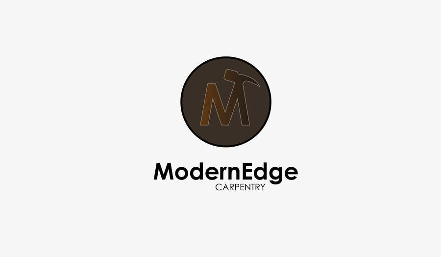 Konkurrenceindlæg #                                        62                                      for                                         Design a Logo for Modern Edge Carpentry