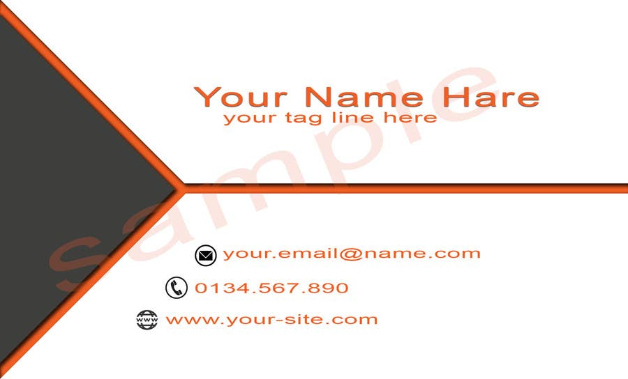 Contest Entry #                                        89                                      for                                         Design some Business Cards for ME