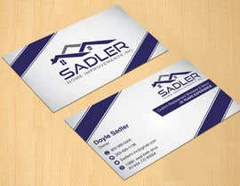 #13 cho Design some Business Cards for sadler home improvements bởi dinesh0805