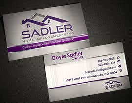 #15 for Design some Business Cards for sadler home improvements af AlexTV