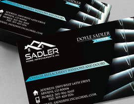 #9 for Design some Business Cards for sadler home improvements af FalconDandP
