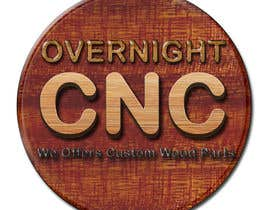 nº 7 pour Design a Logo for Overnight CNC par parteekrsnr