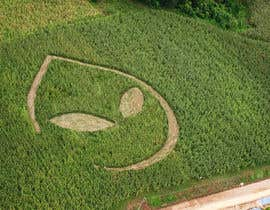 imagencreativajp tarafından PHOTOSHOP!  I need an ALIEN logo photoshopping into a corn field!! için no 34