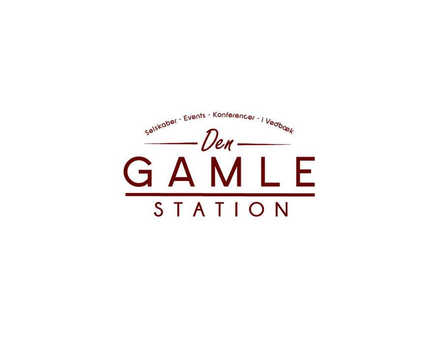 "Bài tham dự cuộc thi #6 cho Design a Logo for ""Den Gamle Station"""