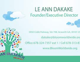 #19 for Design some Business Cards for BLOOM! by onneti2013
