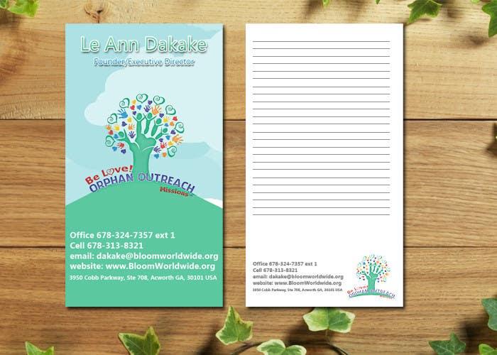 Inscrição nº 15 do Concurso para Design some Business Cards for BLOOM!
