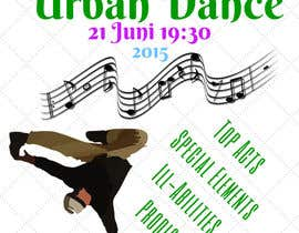 #11 untuk Need a Flyer for an dance event oleh janainabarroso