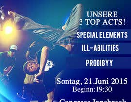 #12 untuk Need a Flyer for an dance event oleh jk94