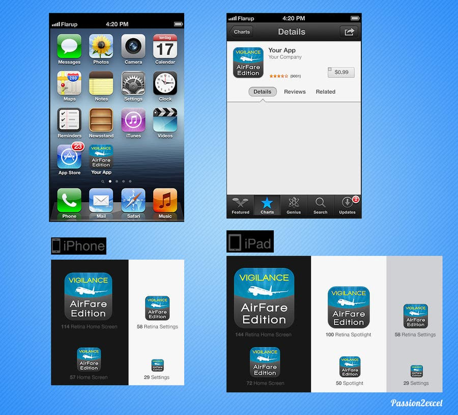 #15 for Rewrite existing iPhone app (prototype) by passion2excel