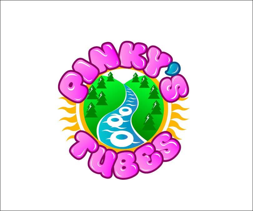 Inscrição nº 22 do Concurso para Design a Logo for River Tubing Company - Pinky's Tubes