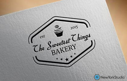 #164 for Design a Logo for The Sweetest Things Bakery af SergiuDorin