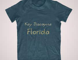 nº 53 pour Design a T-Shirt for Key Biscayne, Florida par SpiritDesigner