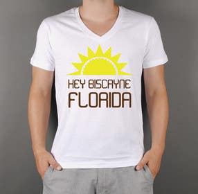 squirrel1811 tarafından Design a T-Shirt for Key Biscayne, Florida için no 22