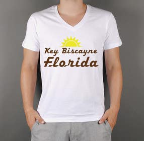#44 untuk Design a T-Shirt for Key Biscayne, Florida oleh squirrel1811
