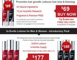 #27 for Design an email Flyer to market an amazing new hair regrowth product by datagrabbers