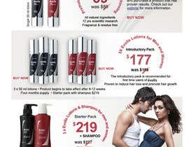 nº 24 pour Design an email Flyer to market an amazing new hair regrowth product par matt3214