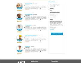 #13 cho Design a Website Mockup for HireHelp.com bởi Adzibabo