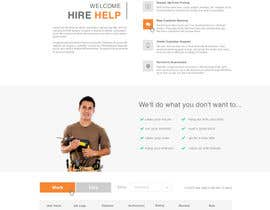 #25 cho Design a Website Mockup for HireHelp.com bởi phamtech211
